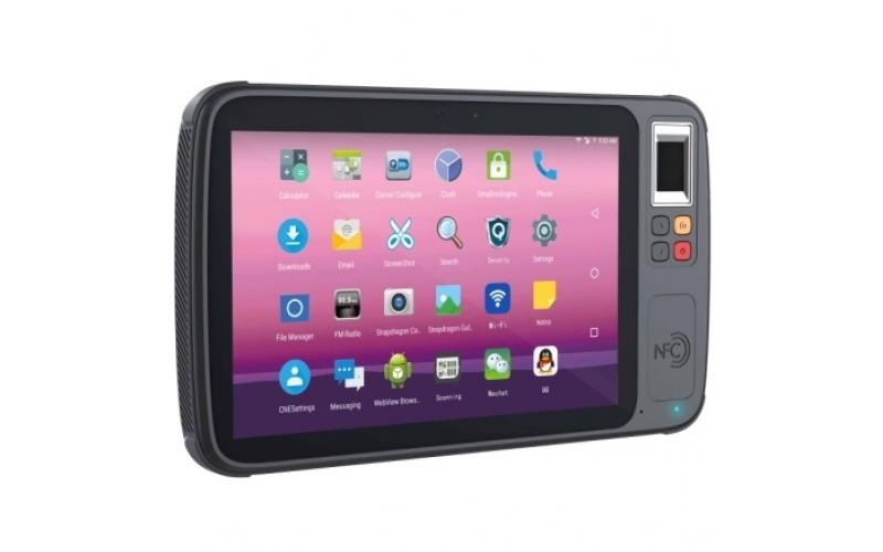 禾三H800D 8寸 4G移动手持终端 WIFI/身份证/指纹